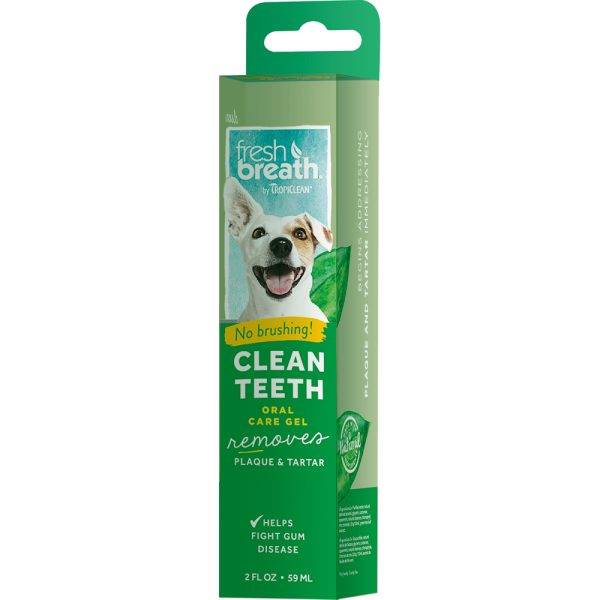 TROPICLEAN FRESH BREATH CLEAN TEETH BRUSHING GEL FOR DOGS