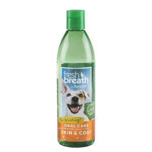 Tropiclean Fresh Breath Skin and Coat Water Additive, 473 ml