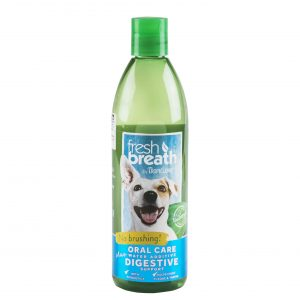 TROPICLEAN FRESH BREATHE DIGESTIVE SUPPORT WATER ADDITIVE