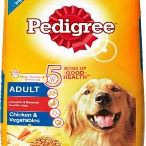 Pedigree Adult Chicken & Vegetables Dog Food 20 KG