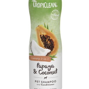 TROPICLEAN Papaya & Coconut Shampoo Conditioner 355 ml