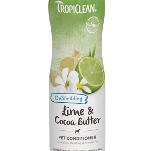 Tropiclean Pet Conditioner Deshedding in Lime & Cocoa Butter 355ml