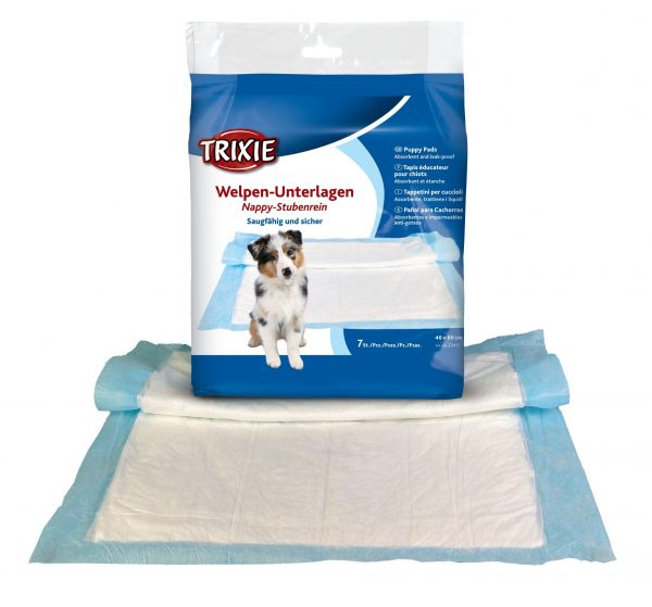 TRIXIE NAPPY PUPPY PAD, 7 PADS PACK