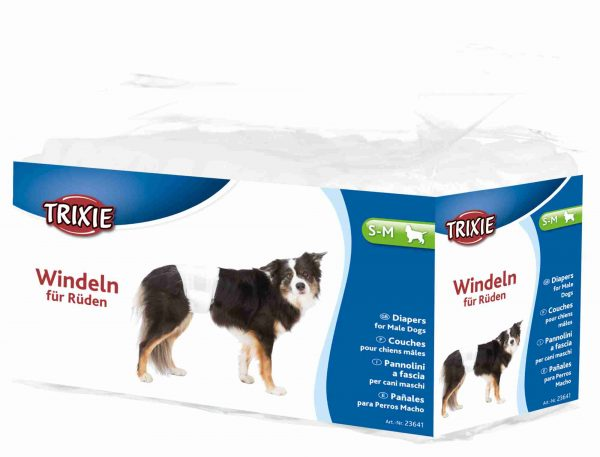 TRIXIE DIAPER FOR MALE DOGS DISPOSABLE