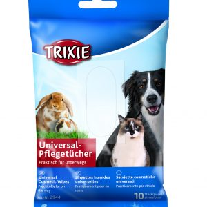 TRIXIE UNIVERSAL TRAVEL WIPES 10 PIECES