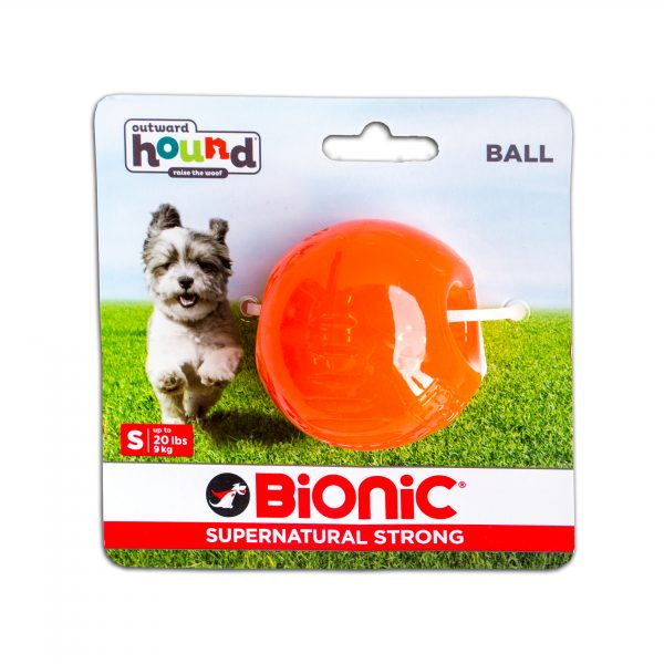 Outward Hound Bionic Opaque Ball, SMALL