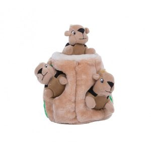 OUTWARD HOUND HIDE A SQUIRREL LARGE PUZZLE PLUSH GAME