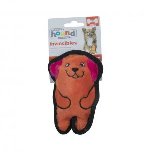OUTWARD HOUND INVINCIBLE MINI DOG SQUEAKING TOY