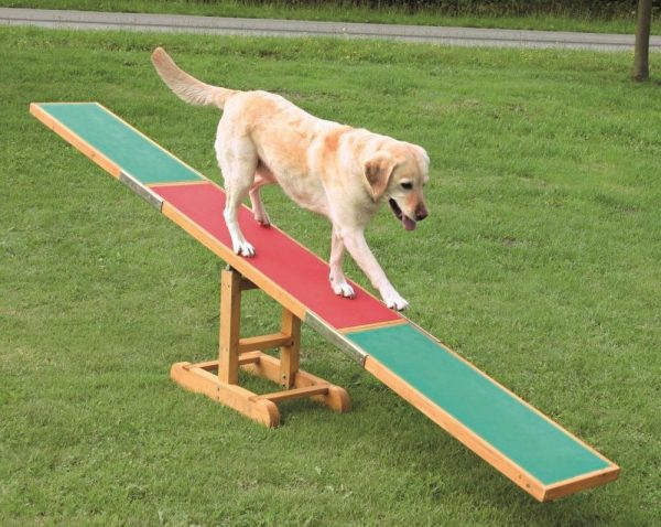 TRIXIE DOG AGILITY SEE SAW WOODEN