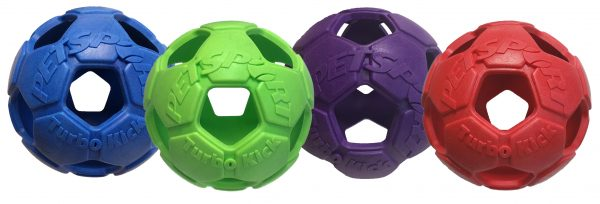 PETSPORT TURBO KICK SOCCER BALL 4 INCH