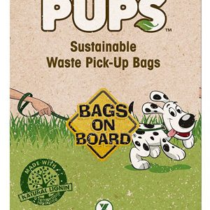 BOB GREEN PUP BIODEGRADABLE WASTE PICK UP BAGS