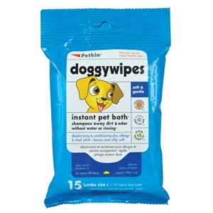 PETKIN DOGGYWIPES 15 WIPES