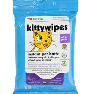 PETKIN KITTYWIPES 15 WIPES