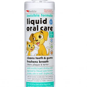 PETKIN PET LIQUID ORAL CARE, INVISIBLE FORMULA