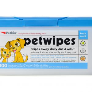 PETKIN PETWIPES 100 WIPES