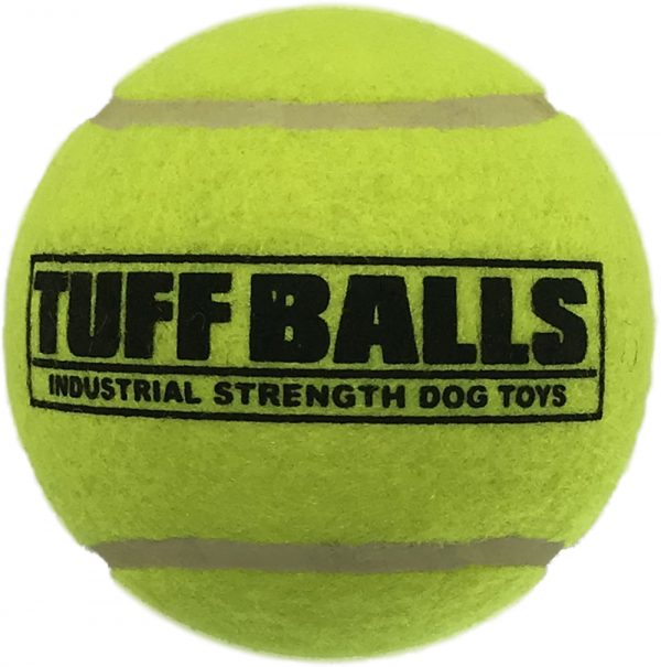 "PETSPORT 4"" GIANT TUFF BALL 1 PK"