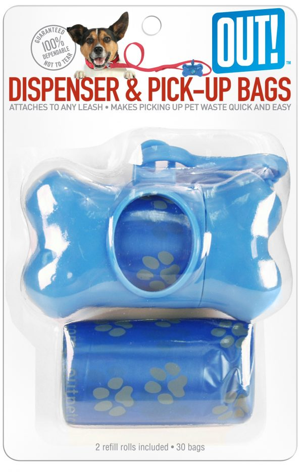 OUT! BONE DISPENSER AND WASTE PICK UP BAGS