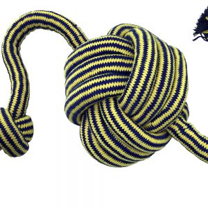 """PETSPORT TWISTED CHEW MONSTER KNOT BALL 36"""" ROPE"""
