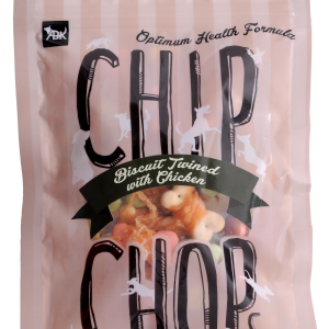 CHIP CHOPS BISCUITS TWINED WITH CHICKEN