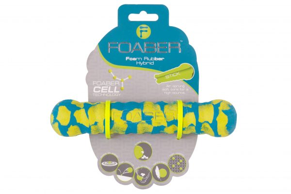 PET BRANDS FOABER STICK FOAM RUBBER HYBRID TOY MIXED