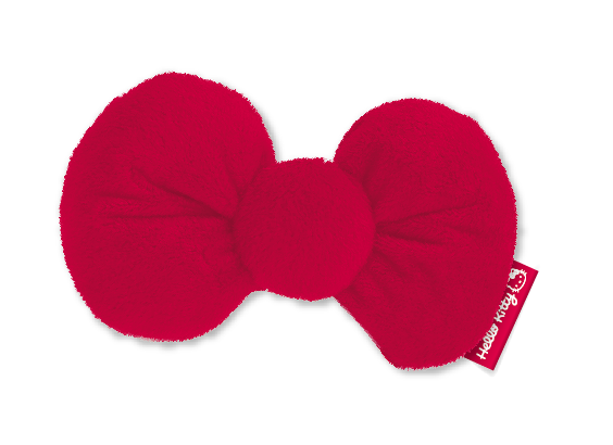 PET BRANDS HELLO KITTY CRINKLE CATNIP BOW TOY