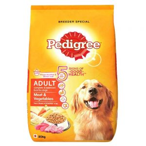 Pedigree Adult Meat and Vegetables 20kg