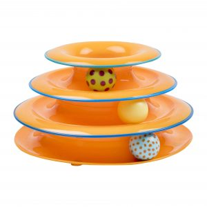 OUTWARD HOUND TOWER OF TRACK, THREE LEVEL ACTIVE CAT TOY
