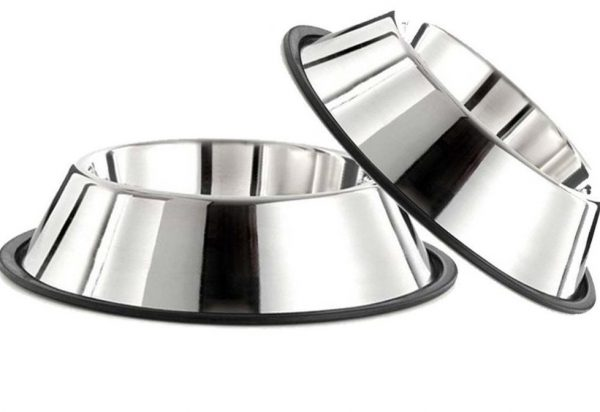 ANTI SKID BOWL WITH FIXED RUBBER