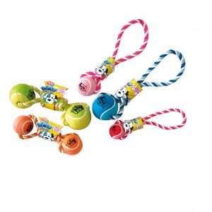 PET BRANDS WOW TENNIS BALL DUMBELL