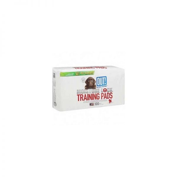 OUT! MOISTURE LOCK TRAINING PADS