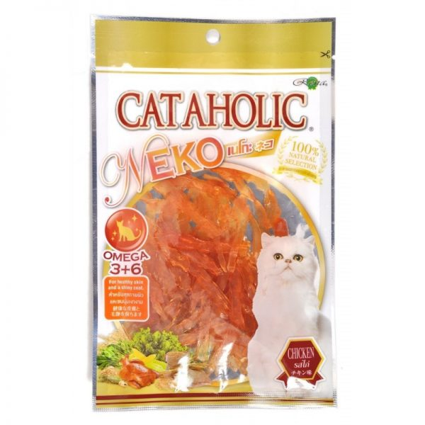 RENA'S NEKO CAT SOFT CHICKEN JERKY SLICED