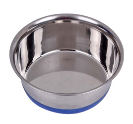 HEAVY BOWL WITH SILICON BASE