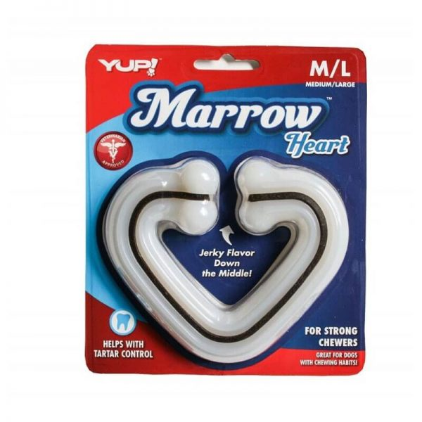 YUP! MARROW CHEW HEART SHAPE
