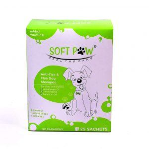 SoftPaw Anti-Tick Flea Dog Shampoo (Repel & Control)