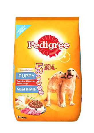 Pedigree Dry Puppy Meat and Milk